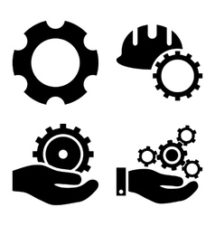 Development flat icons vector