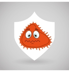 Software infections design vector