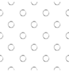 Brushed circles - seamless background vector image vector image