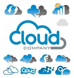 Cloud logo vector