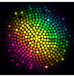 Colorful lights - abstract background vector image vector image
