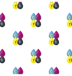 Drops icon in cartoon style isolated on white vector image vector image