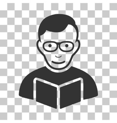 Reader icon vector