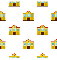 School pattern seamless vector