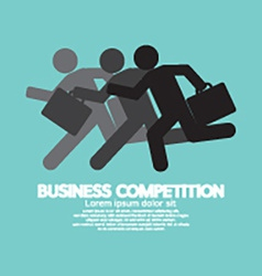 Business competition symbol concept vector