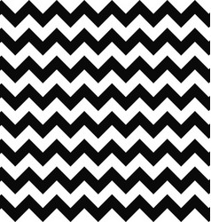 Black and white seamless chevron pattern vector