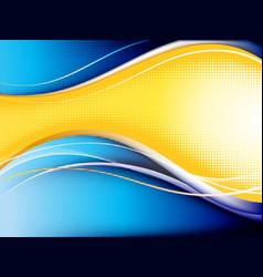 Contrast wave background vector