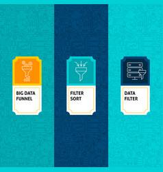 Line data filter package labels vector