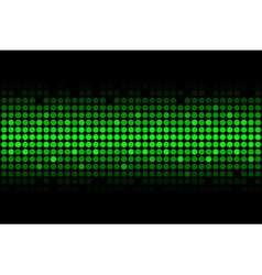abstract background - green lights vector image