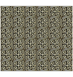 Greek Key Pattern Design vector image