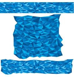 Blue vector