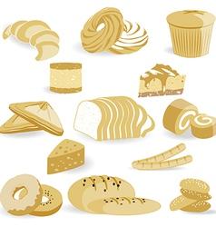 Bread Bakery vector image vector image