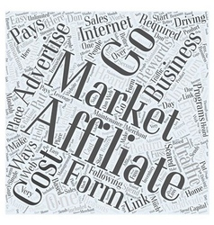 Bw affiliate marketing cost effective way to vector