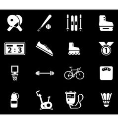 Sport simply icons vector