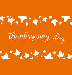 thanksgiving day card style collection vector image