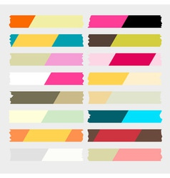 Masking tape two tone vector