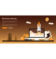 Startup project vector