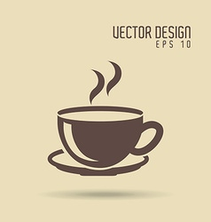 Coffee time icon design vector