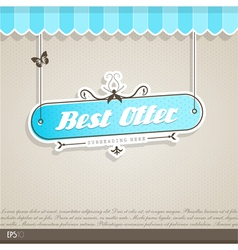 Vintage background with place for your text vector