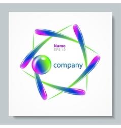 Abstract logo element design template vector