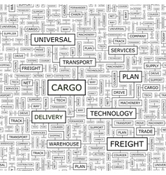CARGO vector image vector image
