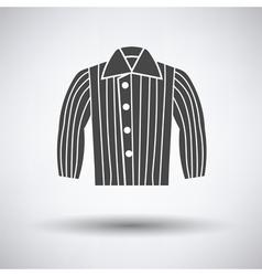 Dog trainig jacket icon vector image