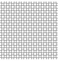 Monochrome dotted polka dot pattern vector