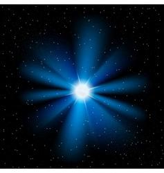 stars sky vector image vector image