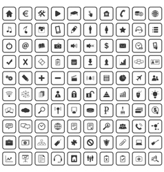 100 webdesign icons set vector