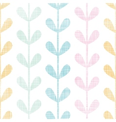 Abstract textile colorful vines leaves seamless vector