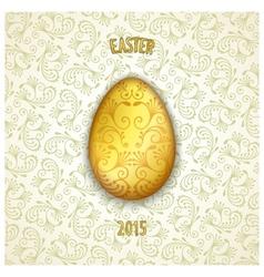 Jewelery easter egg vector