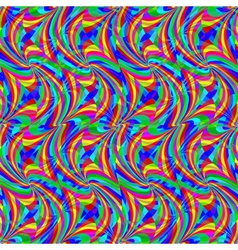 psychedelic pattern vector image vector image