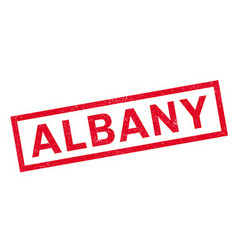 Albany rubber stamp vector