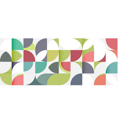 Abstract geometric pattern stripe with a variety vector