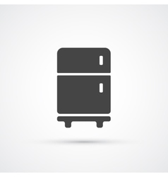 Fridge trendy icon vector