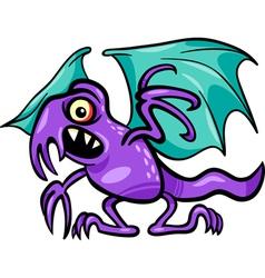 basilisk monster cartoon vector image vector image