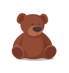 Cartoon style of toy bear vector