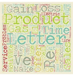 Sales letters that sell text background wordcloud vector