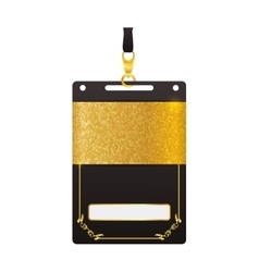 Vip card pass exclusive ticket icon vector