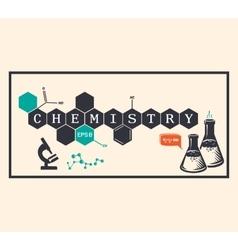 Chemistry background chemistry inscription vector