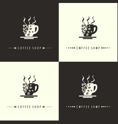Coffee shop-set vector