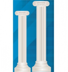 pillar vector image