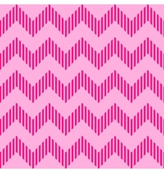 Seamless geometric wavy pattern vector