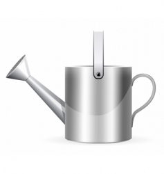 watering can vector image