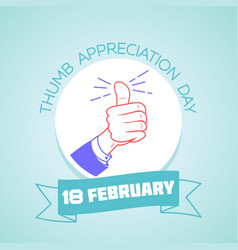 18 february thumb appreciation day 2 vector