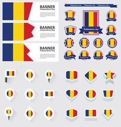 Set romania vector