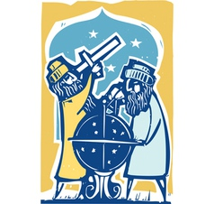 Astrologers Color vector image vector image