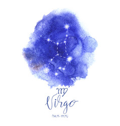 Astrology sign virgo vector