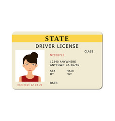 Car river licence vector