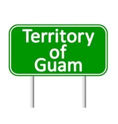 Guam road sign vector